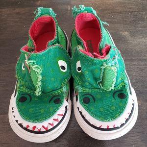 Kids Monster Converse Sneakers